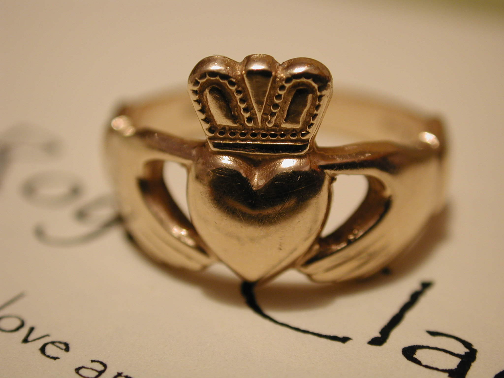 Irish Heart Symbol The Claddagh Ring Heart Symbol